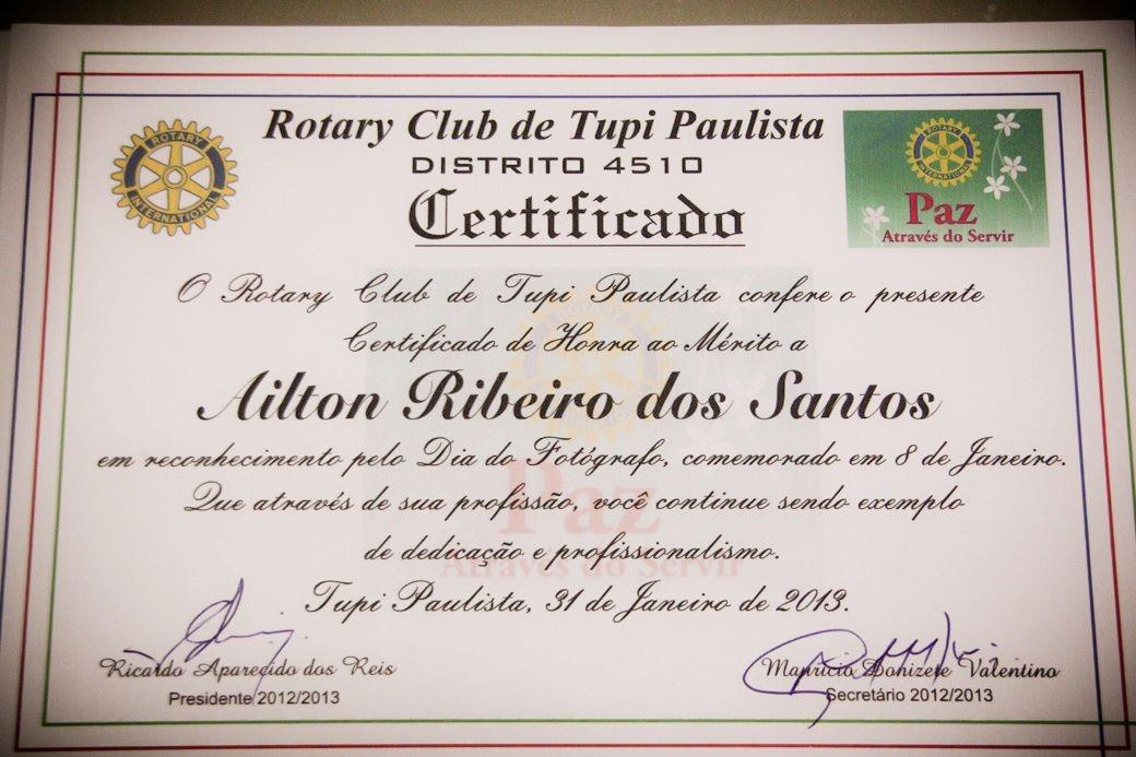 Certificados, Honrarias e etc...